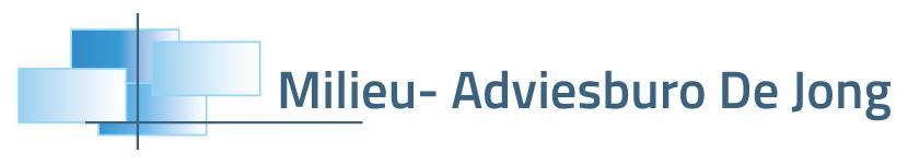Logo Milieu- Adviesburo De Jong BV